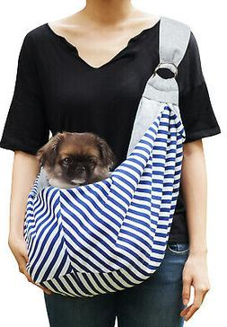 Pet Sling Carrier for Small Dogs Cats Reversible Puppy Tote
