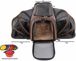Petpeppy.com The Original Airline Approved Expandable Pet Ca
