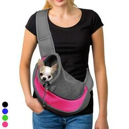Pink Pet Carrier Soft Mesh Chihuahua Carrier Small Dog Cat R