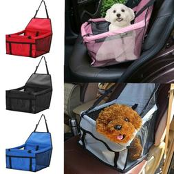 Portable Dog Car Seat Belt Booster Travel Carrier Folding Ba