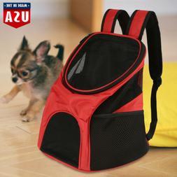 Portable Mesh Pet Puppy Dog Cat Carrier Backpack Net Bag Tot