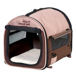 Petmate Portable Pet Home, Medium, Dark Taupe/Coffee Grounds