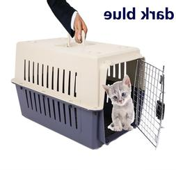 Portable Plastic Transport Crate Cat Dog Air Travel Pet Crat