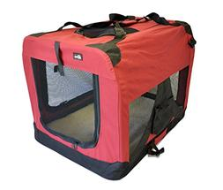 "topPets Portable Soft Pet Carrier - Large: 28""x20""x20"" - Mar"