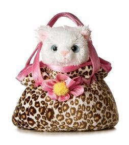 """Pretty Kitty Fancy Pal Pet Carrier 8"""" by Aurora"""