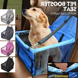 Puppy Dog Car Seat Booster Small Auto Travel Lookout Carrier
