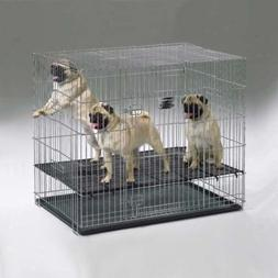 "MidWest Puppy Playpen with 1/2 Inch Mesh Floor Grid, 23""L"
