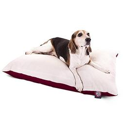 """Majestic Pet Products Rectangle Dog Bed size: 30""""L x 40""""W x"""