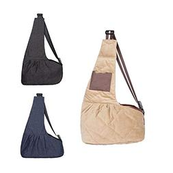 Pet Sling Bags Outdoor Windproof Carriers for Small Cats and
