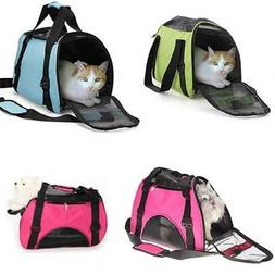 Small/Medium/Large Nylon & Mesh Pet Carrier Tote Bag Travel