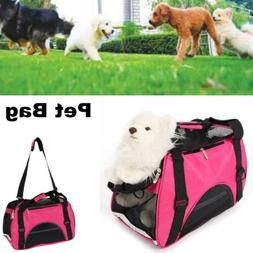 Small Pet Carrier Tote Bag Dog Cat Puppy Nylon Handbag Trave