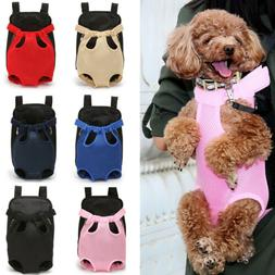 Small Pet Cat Puppy Dog Carrier Front Pack Hiking Backpack H