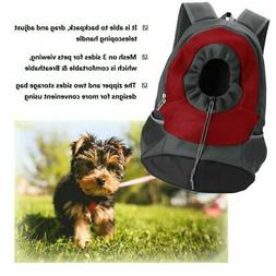 Small Pet Dog Cat Puppy Carrier Travel Tote Backpack Bag Sli