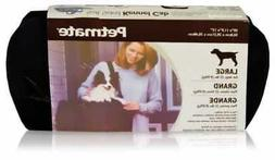 Petmate Soft-Sided Kennel Cab Small Pet Carrier Two Easy-Ope
