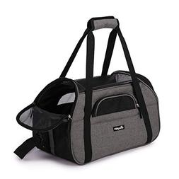 "Jespet Soft Pet Carrier for Small Dogs, Cats, Puppy, 17"" Air"