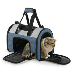 JESPET Soft Pet Carrier for Travel, Portable & Lightweight C