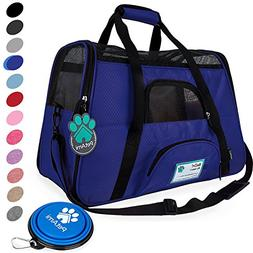 Premium Soft-Sided Pet Travel Carrier by PetAmi | Airline Ap