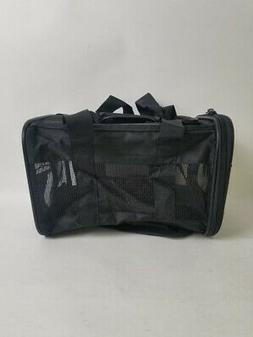 AmazonBasics Soft Sided Pet Carrier Travel Transport Bag Bla