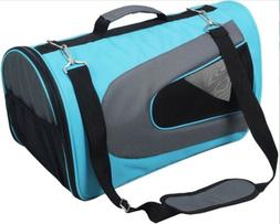 Pet Magasin Soft Sided Pet Travel Carrier For Dogs & Cats, A