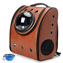 Aukor Space Capsule Bubble Backpack, Pet Carriers with Soft-
