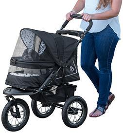 *Pet Gear Stroller Jogger Walk Skyline NV No-Zip Weather Cov