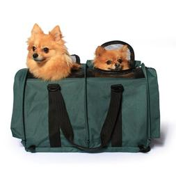 Sturdibag Large Divided Pet Travel Carrier Carry 2 Pets in 1