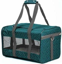Sherpa Teal Original Deluxe Carrier Pet Dog Cat Airline Appr
