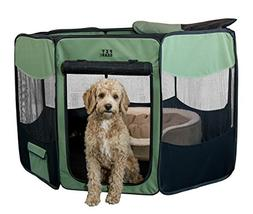 Pet Gear Travel Lite Portable Play Pen/Soft Crate with Remov
