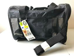 SHERPA To Go Pet Carrier  BLACK ~ MEDIUM ~ New NWT