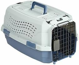 Two Door Top Load Pet Kennel Travel Crate Dog Carrier Portab