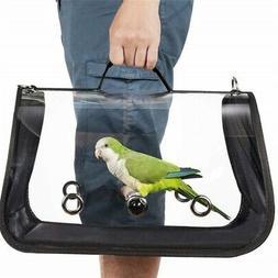 Travel Pet Parrot Bird Carrier Travel Breathable Transparent