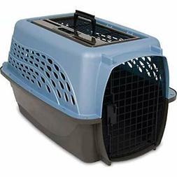 Pet Carrier Cat dog Kennel Two Door Top Load 24 Inch Durable