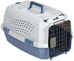 Two Door Pet Kennel Top Load Travel Crate Dog Cat Pet Cage C