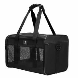 X-ZONE PET Airline Approved Soft-Sided Pet Travel Carrier fo