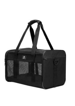 X-ZONE PET Airline Approved Soft Sided Pet Travel Carrier Ba