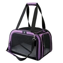 X-ZONE PET Pet Carrier for Dog and Cats, Airline Approved So